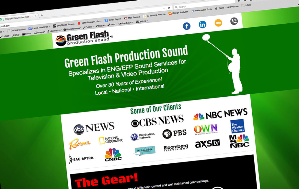 green Flash Sound Production