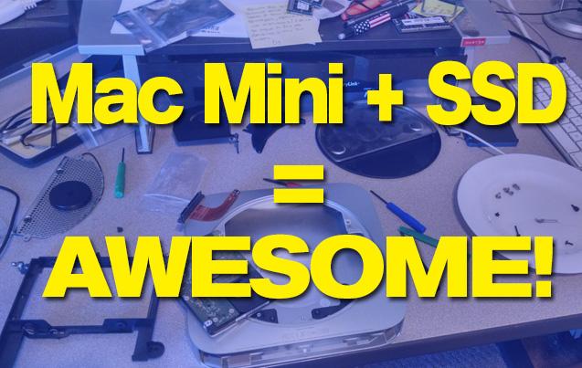 New SSD in a Mac Mini