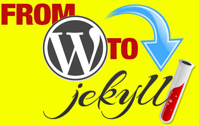 moving from WordPress to Jekyll